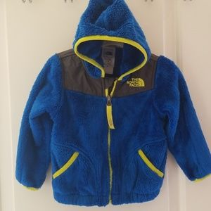 Infant North Face fleece zip up